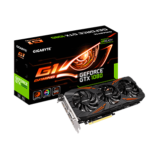 GeForce® GTX 1080 G1 Gaming 8G