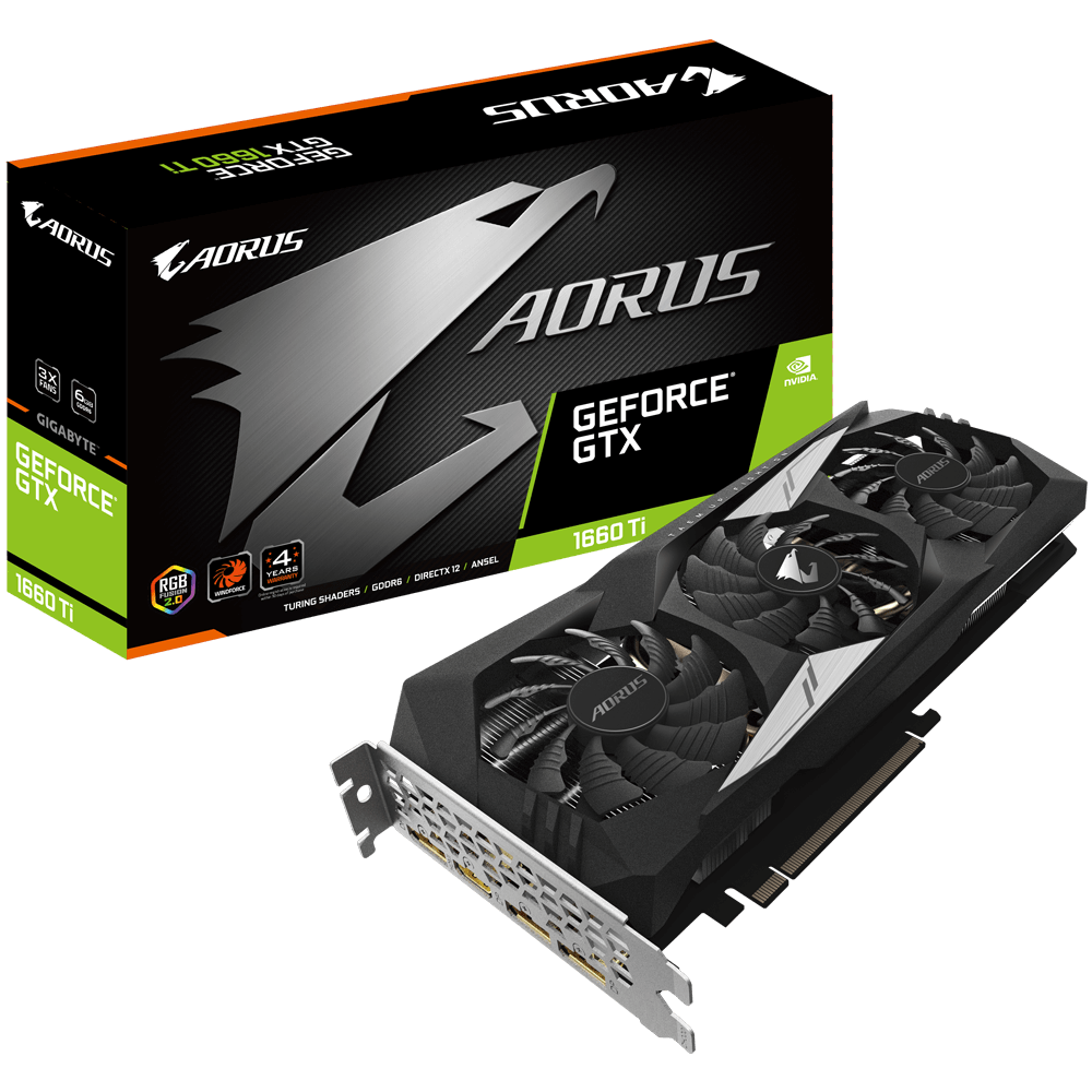 AORUS GeForce GTX 1660 Ti 6G